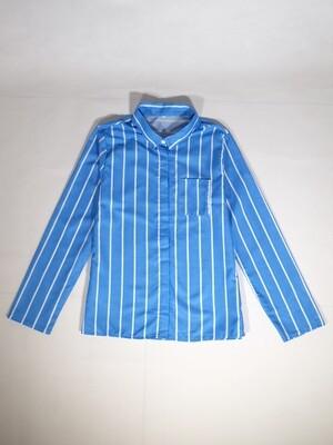 Long Sleeve Printed Stripes Shirt