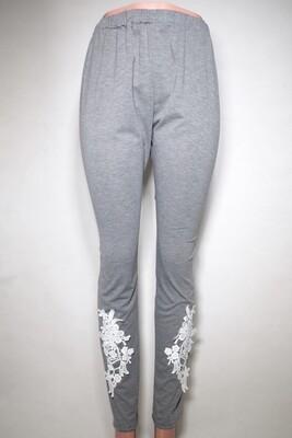 Comfort Lace Applique Leggings