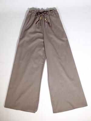 Cotton Linen Drawstring Long Pants