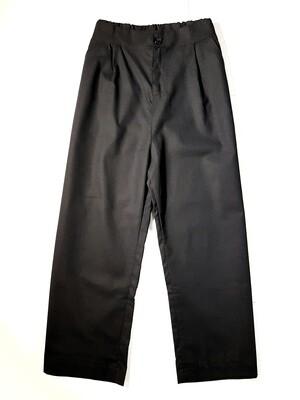 Cotton Linen Straight Cut Pants