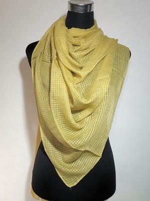 Millenium Yellow Textured Scarf