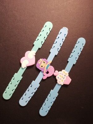 Baby Blue Kids Mask Extender