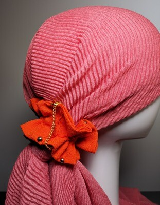 Scrunchies Fury Red Gold