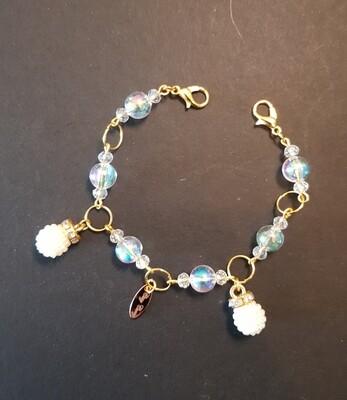 Dual Function Face Mask Extender & Bracelet (Sakura Passion Beads)