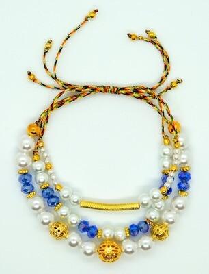 Aimi Multi Pearl Beads Bracelet