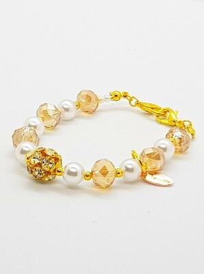 Dual Function Face Mask Extender & Bracelet (Naoko Pearl Beads)