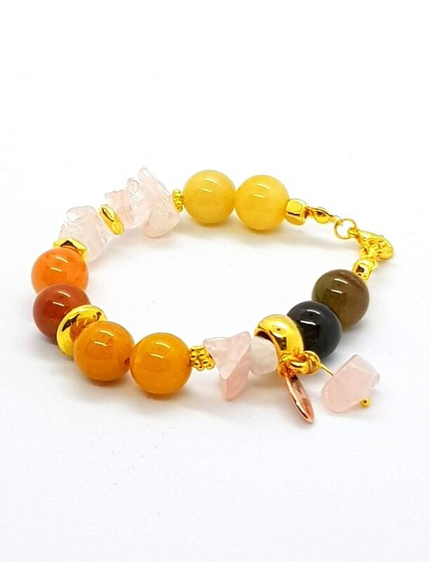 Dual Function Face Mask Extender & Bracelet (Hiroyuki Pearl Beads)