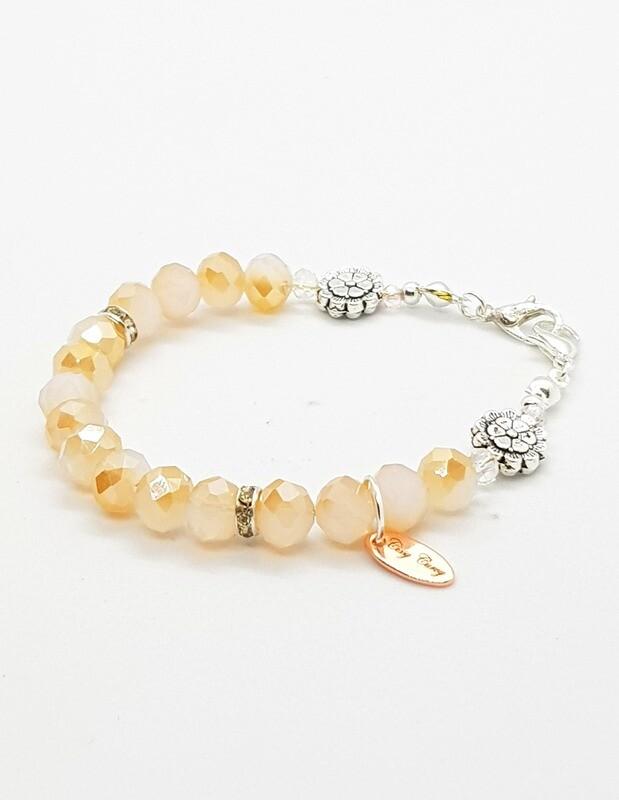 Dual Function Face Mask Extender & Bracelet (Ha-Neul Pearl Beads)