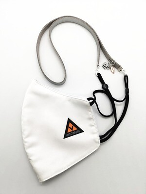 Him & Her Unisex Premium Mask Lanyard