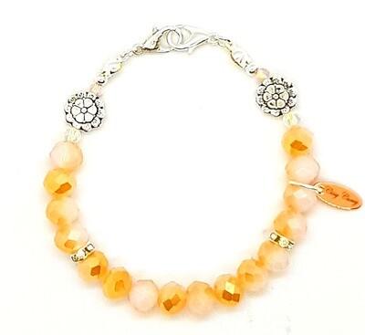 Bracelet & Face Cover Extender Dual Function (Ha-Neul - Pearl Beads)