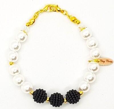 Bracelet & Mask Extender Dual Function (Kaori - Pearl Beads)
