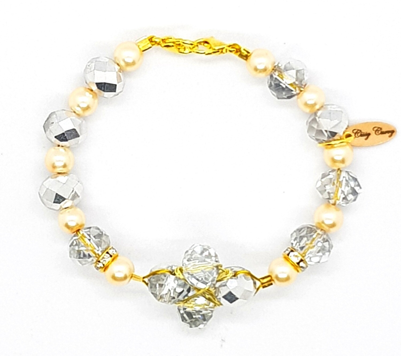 Bracelet & Face Mask Extender Dual Function (Shinee - Diamond Pearl)