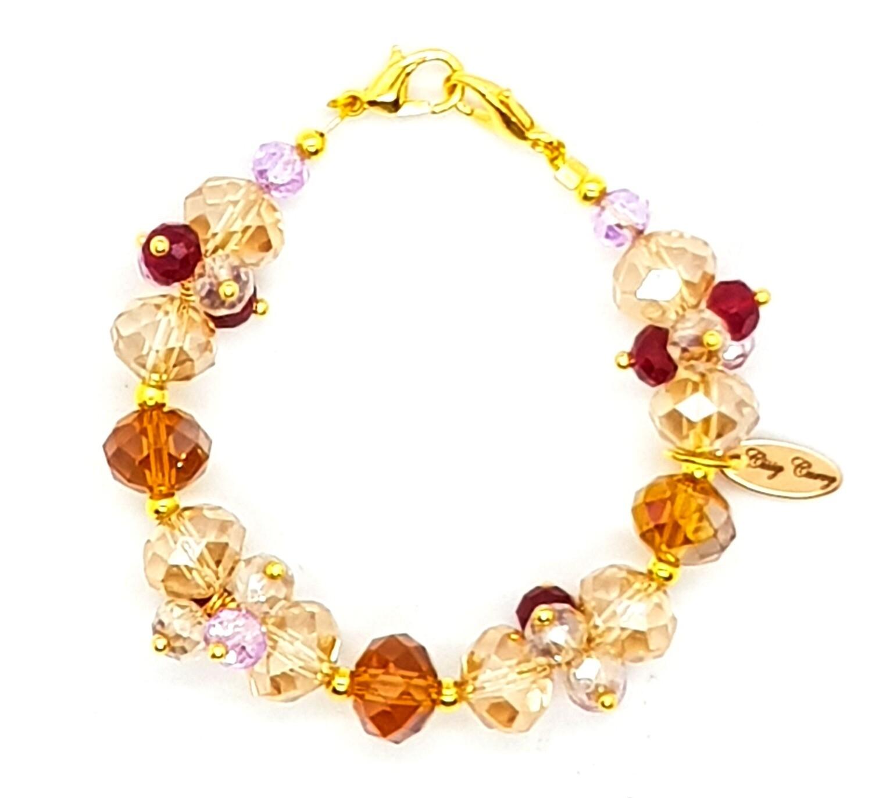 Bracelet & Face Mask Extender Dual Function (Ae-Cha - Diamond Beads)