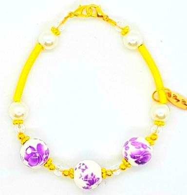 Bracelet & Face Mask Extender Dual Function (Chaewon - Tensha Pearl Beads)