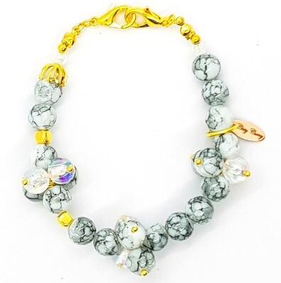 Bracelet & Face Cover Extender Dual Function (Nanase - Pearl Beads)