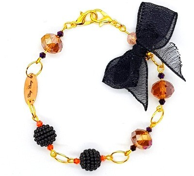 Bracelet & Face Mask Extender Dual Function (Hinonazo - Crystal Czech Beads)