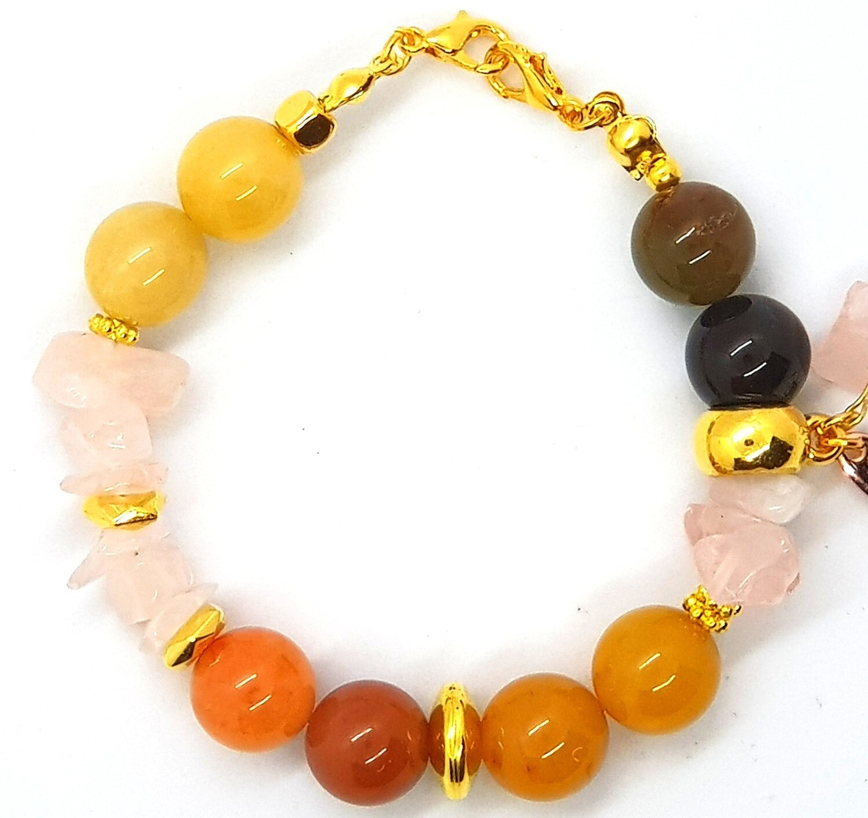 Bracelet & Face Mask Extender Dual Function (Beatrice - Stone Beads)