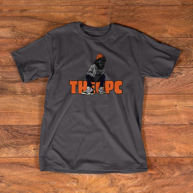 GPC X BEEBsox TEE (charcoal gray)