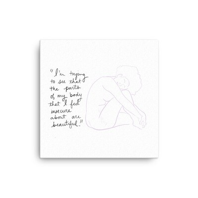 Beautiful Insecurities Canvas