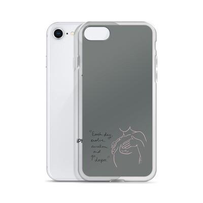 Evolve Grey iPhone Case