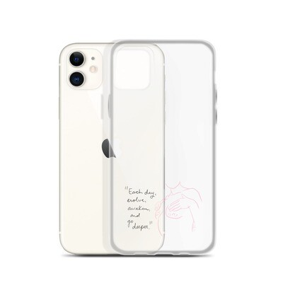 Evolve Clear iPhone Case