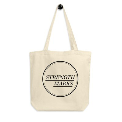 Strength Marks Eco Tote Bag