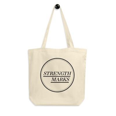 Strength Marks Eco Tote Bag