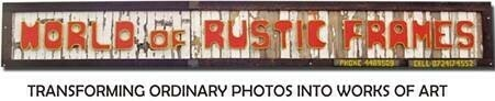 World Of Rustic Frames And Furniture
