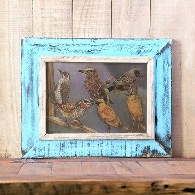 A4 Rustic wooden frame - 21 cm x 30 cm (8.3 x 11.8 inches)
