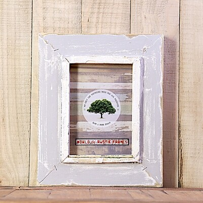 A6 Rustic wooden frames - 10 cm x 15 cm (3.94 x 5.9 inches)