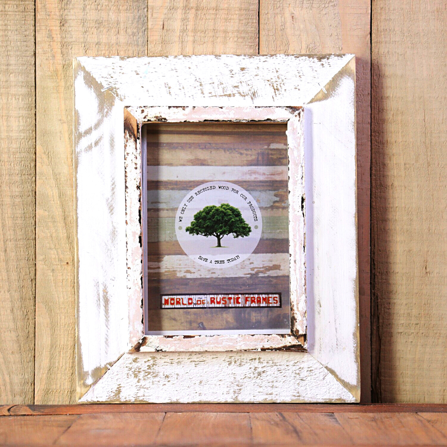 A5 Rustic wooden frames - 15 cm x 20 cm ( 5.9 x 7.9 inches)