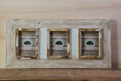 A6 Rustic frames set of 3 (10  x 15 cm ) Photo size