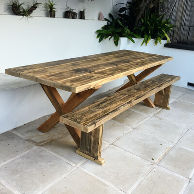 2,4 meter outdoor table