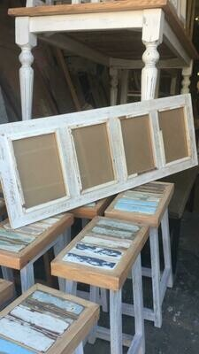 A4  Rustic set of 4 (photo size 21 x 30 cm) (8.27 x 11.8 inches)