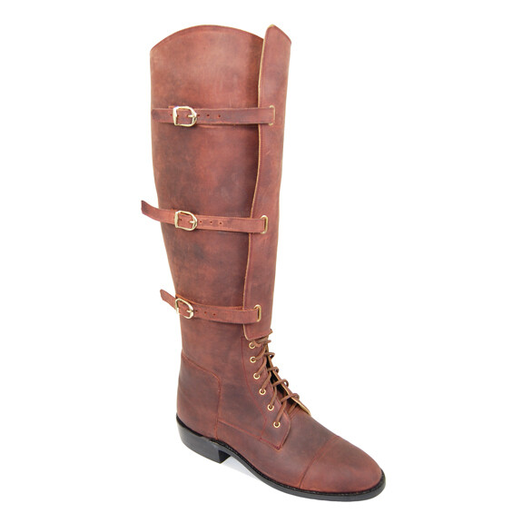 1940 U.S. CAVALRY LACE-UP BOOTS