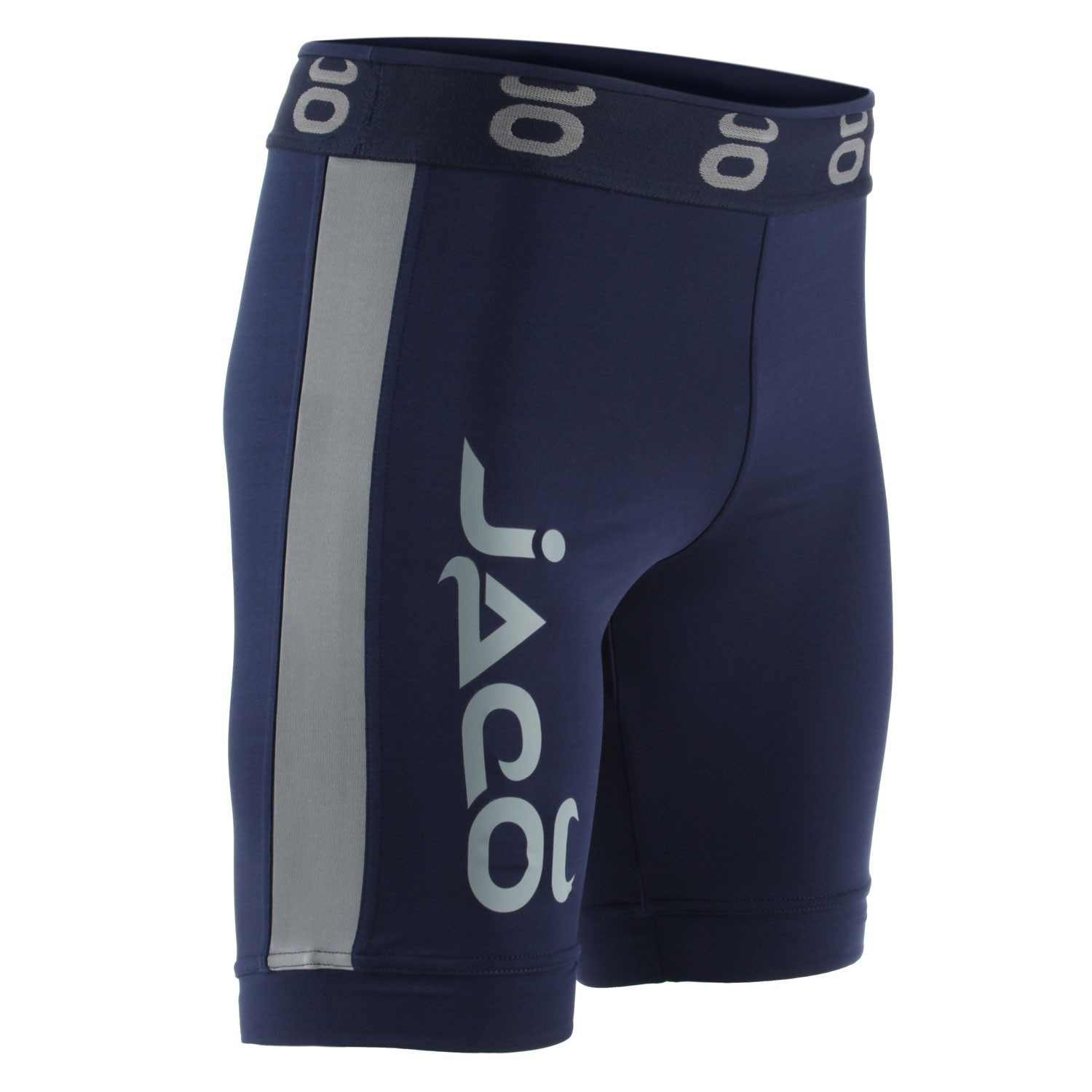 Vale Tudo Fight Shorts - Long (Navy/Silverlake)