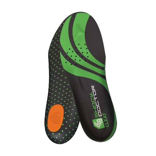 SHOCK DOCTOR CLEAT INSOLE (Football / Rugby / Baseball / Soccer / Lacrosse)