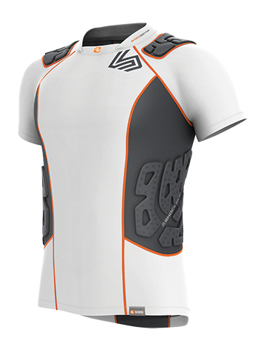 SHOCK DOCTOR ULTRA SHOCKSKIN 5-PAD IMPACT SHIRT