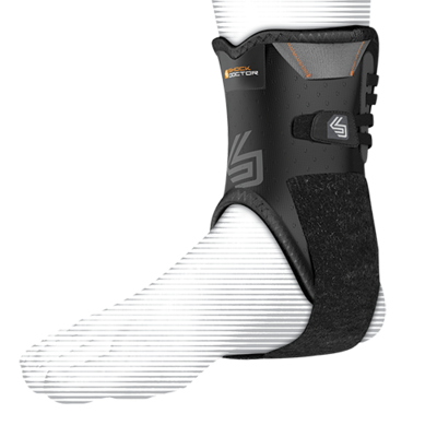 847 ANKLE STABILIZER WITH FLEXIBLE SUPPORT STAYS