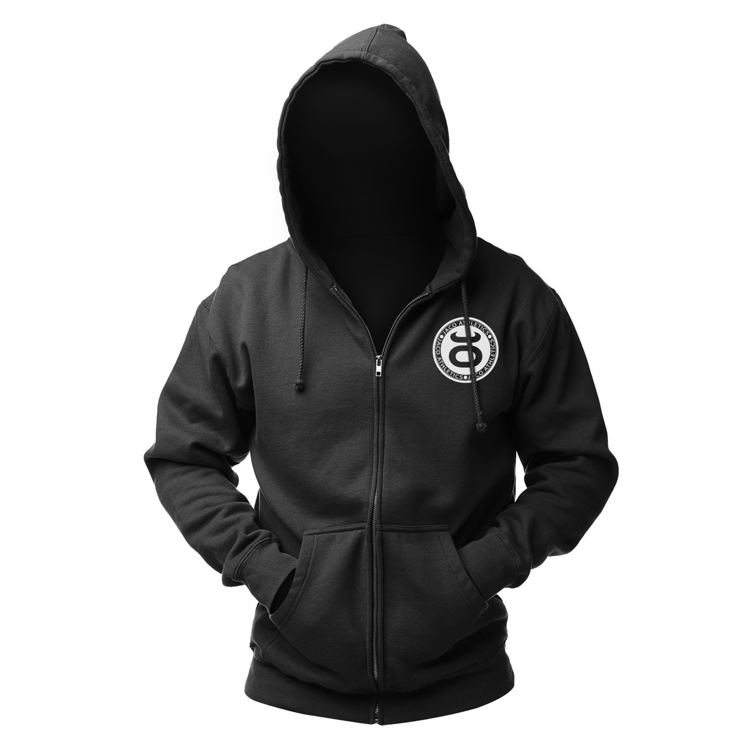 JACO Athletics Team Hoodie (Black/White)