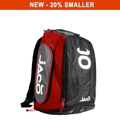 Compact Vented Convertible Equipment Bag (Black/Grey/Red)