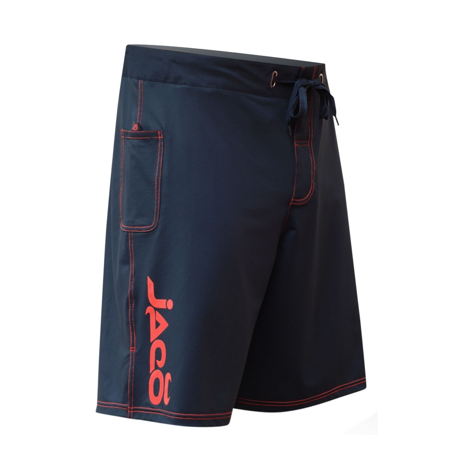 Hybrid Training Short (Black/Warm Red)