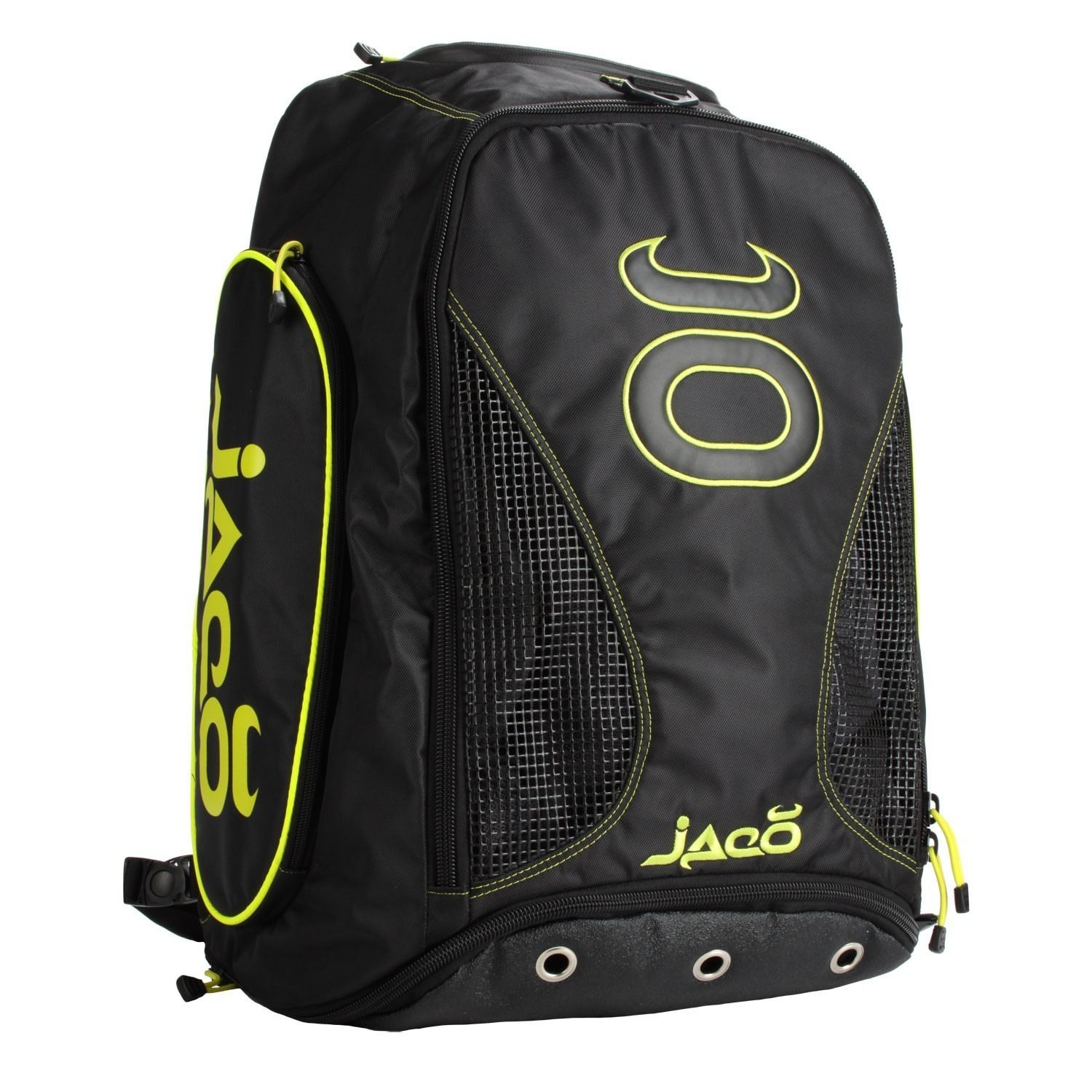 Vented Convertible Equipment Bag 2.0 (Black/SugaFly Yellow)