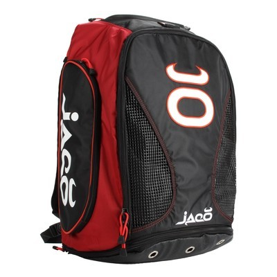 Vented Convertible Equipment Bag 2.0 (Black/Warm Red)