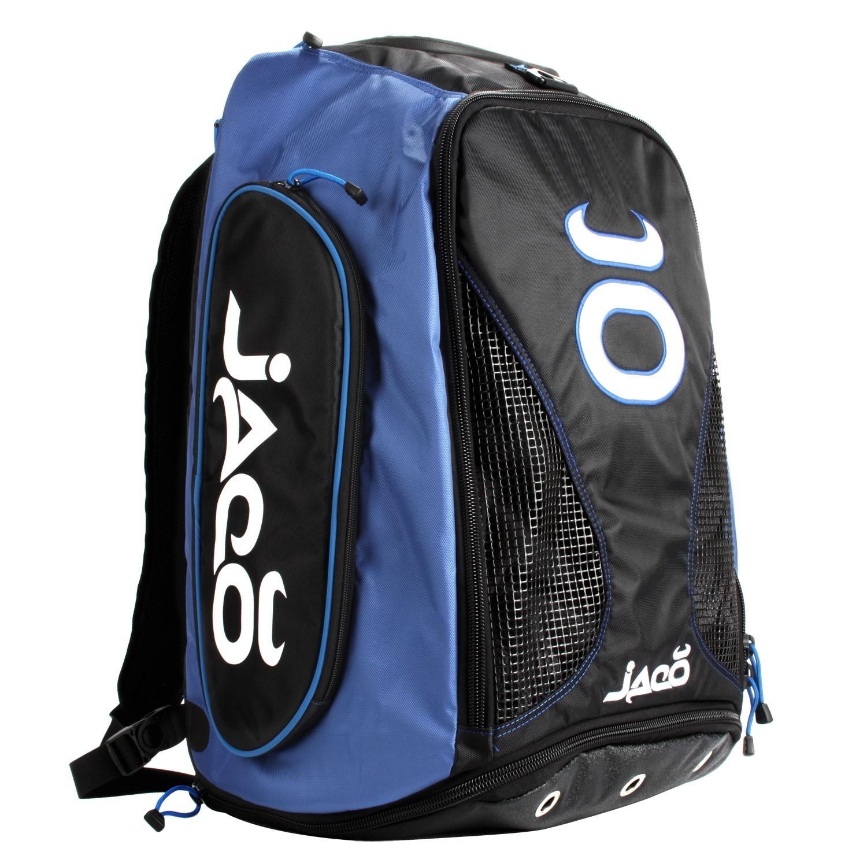 Vented Convertible Equipment Bag 2.0 (Black/Cobalt Blue)