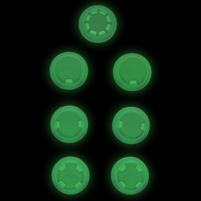 Training Mask 2.0 Glow In Dark Resistance Valve Set