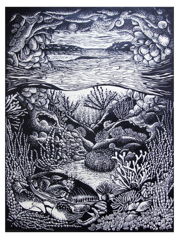 Original Limited Edition Hand Printed Lino