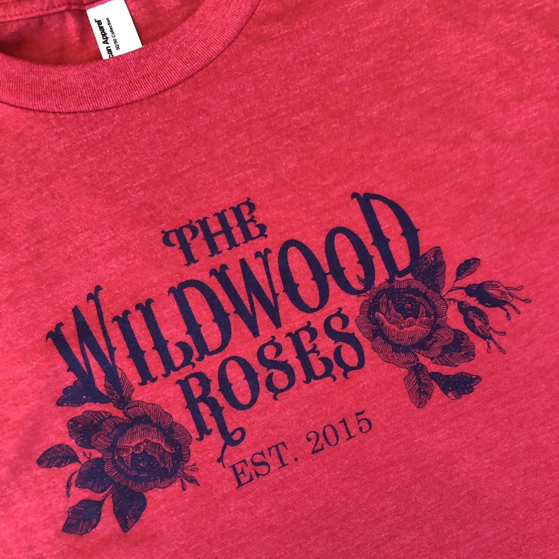 Wildwood Roses men's tee