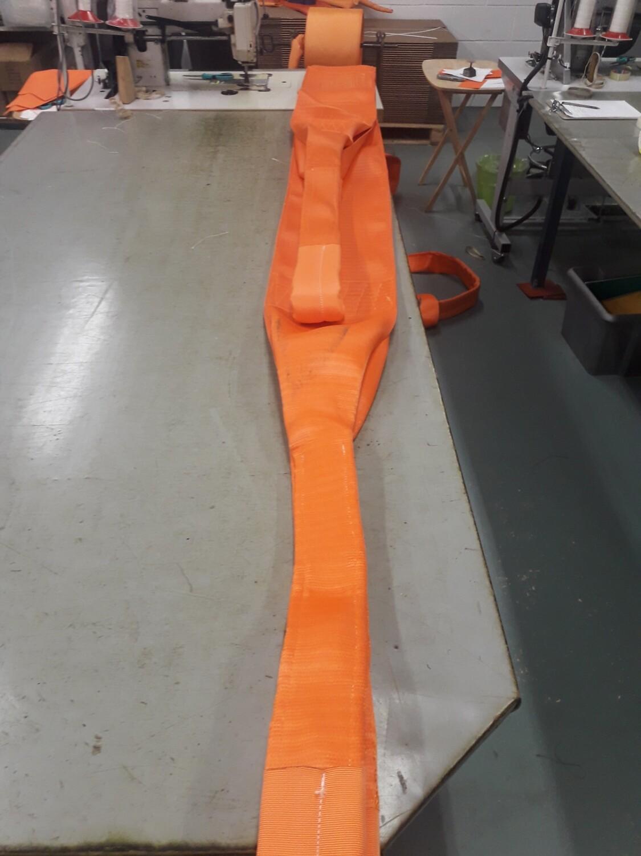 Double Sewn Duplex Webbing Slings 20 Tonne SWL