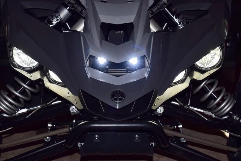 YXZ 10W Front Mount LED Pod Lights